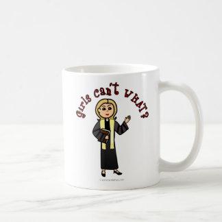 Blonde Preacher Girl Coffee Mug