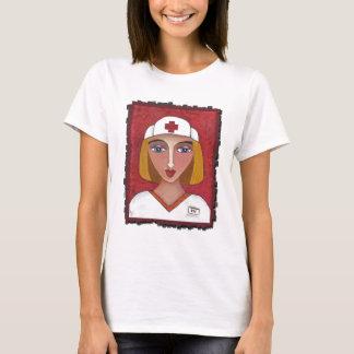 Blonde RN - nurse t-shirt