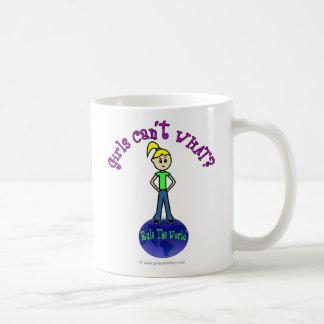 Blonde Rule The World Coffee Mug