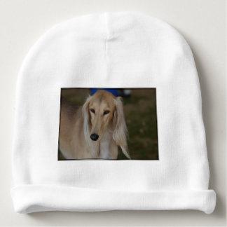 Blonde Saluki Dog Baby Beanie