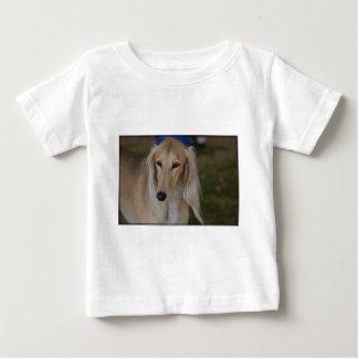 Blonde Saluki Dog Baby T-Shirt