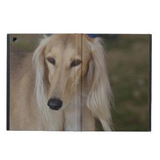 Blonde Saluki Dog iPad Air Covers