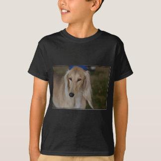 Blonde Saluki Dog T-Shirt
