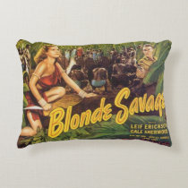 Blonde Savage Accent Pillow