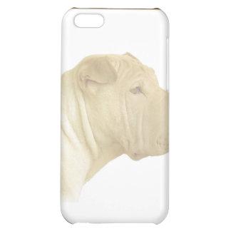 Blonde Shar Pei Portrait on White iPhone 5C Case