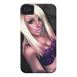 Blonde Skater Girl Case-Mate iPhone 4 Case