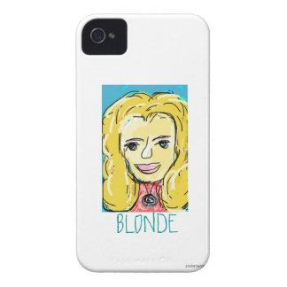 Blonde Sketch iPhone 4 Case-Mate Case