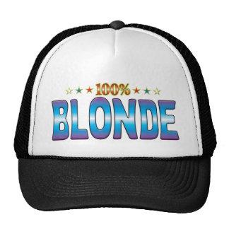 Blonde Star Tag v2 Trucker Hat