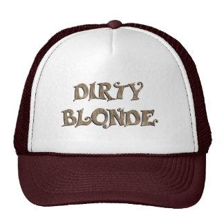 Blonde sucio gorra