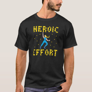 Blonde Superhero T-Shirt