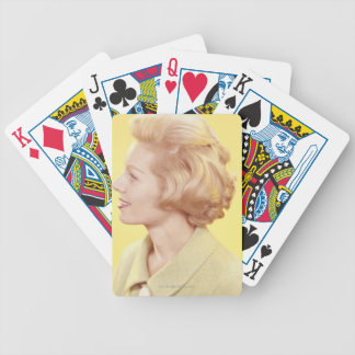 Blonde Woman 2 Bicycle Playing Cards