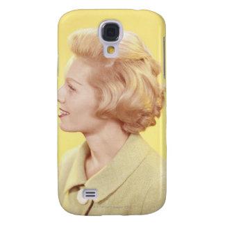 Blonde Woman 2 Samsung Galaxy S4 Cases