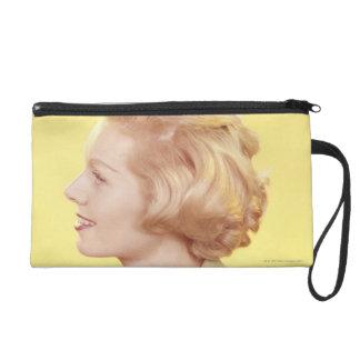 Blonde Woman 2 Wristlet Purse