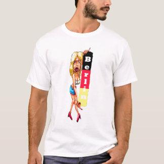Blonde Woman, Berlin Wall, East Side Gallery T-Shirt
