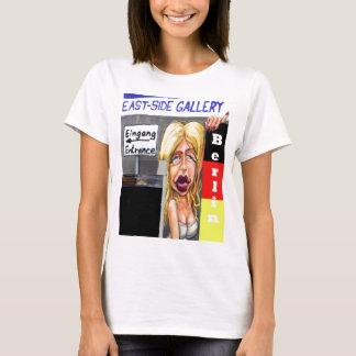 Blonde Woman, Berlin Wall, East Side Gallery (w23) T-Shirt