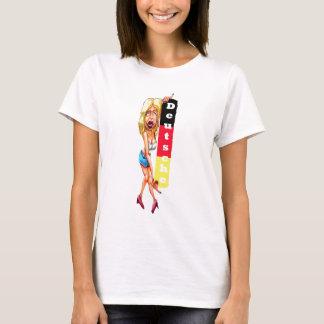 Blonde Woman, Berlin Wall, East Side Gallery(w24b) T-Shirt