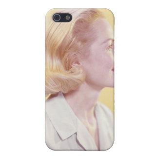Blonde Woman iPhone 5 Covers