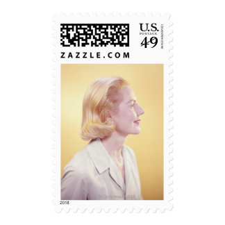 Blonde Woman Stamps