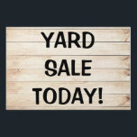 "Blonde Wood Planks, Large, 24&quot; x 36&quot; Yard Sign<br><div class=""desc"">Blonde Wood Planks,  Large,  24&quot; x 36&quot; Yard Sign. YARD SALE or type whatever you choose to say on YOUR yard sign!</div>"