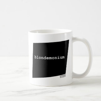 blondemonium.jpg taza básica blanca