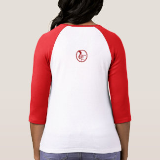 Blondes Have More Fun - Red Baseball Tee