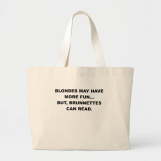 BLONDES MAY HAVE MORE FUN.png Canvas Bag
