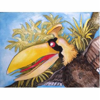 """Bloo Bird"" Art by Mike Quinn Cutout"