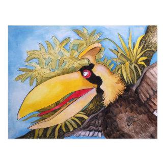 """""""Bloo Bird"""" Art by Mike Quinn Postcard"""