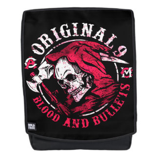 Blood and Bullets Backpack