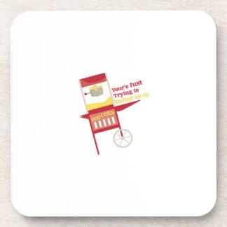 Blood Bags Drink Coaster