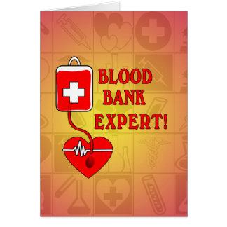 BLOOD BANK EXPERT CARD