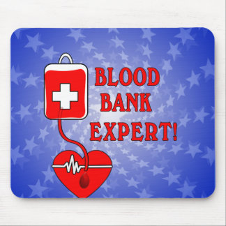 BLOOD BANK EXPERT MOUSE PAD