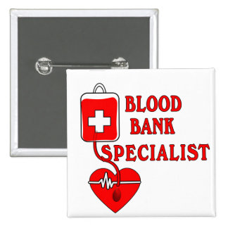 BLOOD BANK SPECIALIST PIN