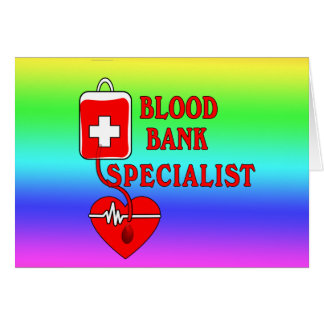 BLOOD BANK SPECIALIST CARD