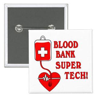 BLOOD BANK SUPER TECH PINS