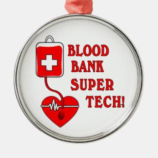 BLOOD BANK SUPER TECH METAL ORNAMENT