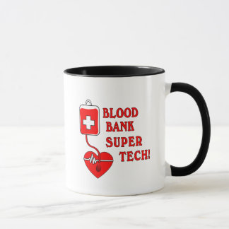 BLOOD BANK SUPER TECH MUG