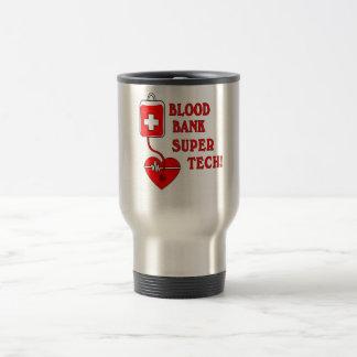 BLOOD BANK SUPER TECH COFFEE MUG