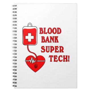 BLOOD BANK SUPER TECH NOTEBOOK
