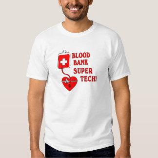 BLOOD BANK SUPER TECH TEE SHIRT