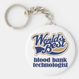 Blood Bank Technologist Gift Keychains