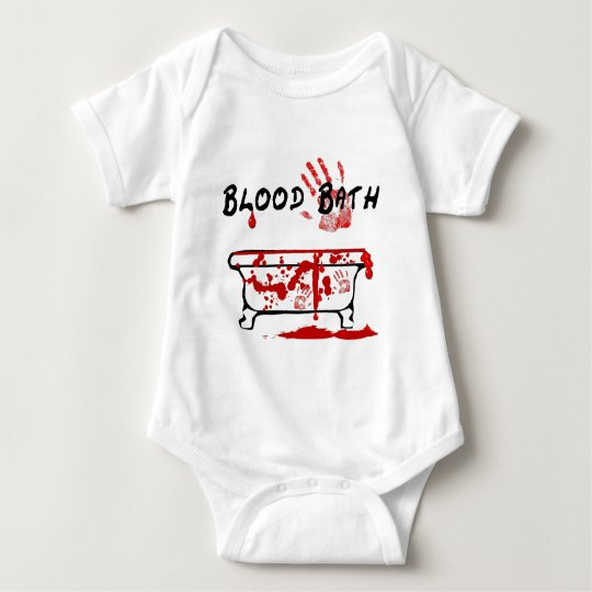 Blood Bath Baby Bodysuit