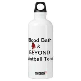 Blood Bath & BEYOND Paintball Team Water Bottle