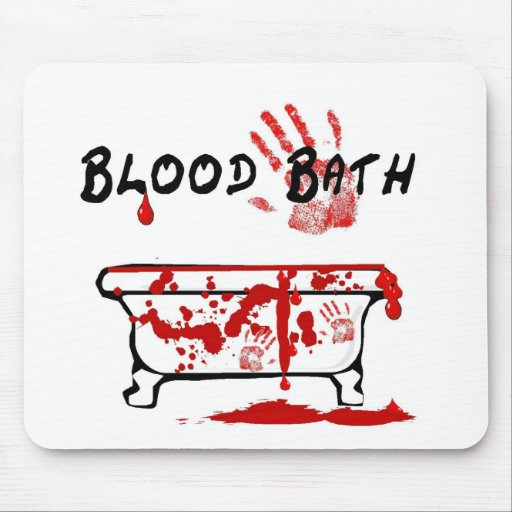 Blood Bath Mousepads