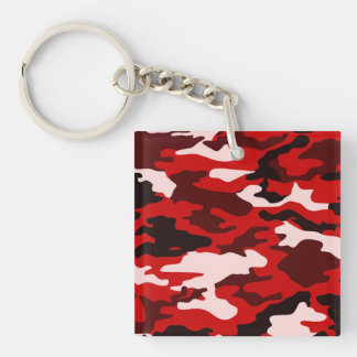 Blood Black Camo Keychain