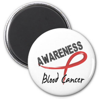 Blood Cancer Awareness 3 2 Inch Round Magnet