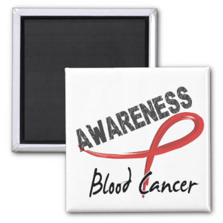 Blood Cancer Awareness 3 2 Inch Square Magnet