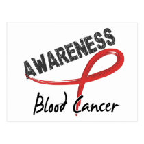 Blood Cancer Awareness 3 Postcard