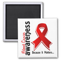 Blood Cancer Awareness 5 Magnet