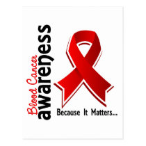 Blood Cancer Awareness 5 Postcard